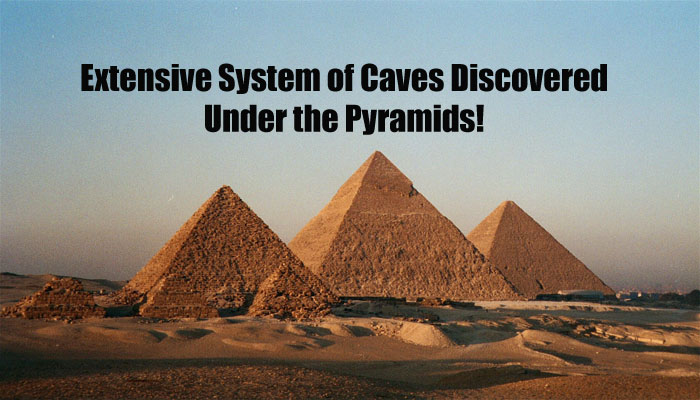 Extensive System Of Caves Discovered Under The Pyramids  Pyramids3