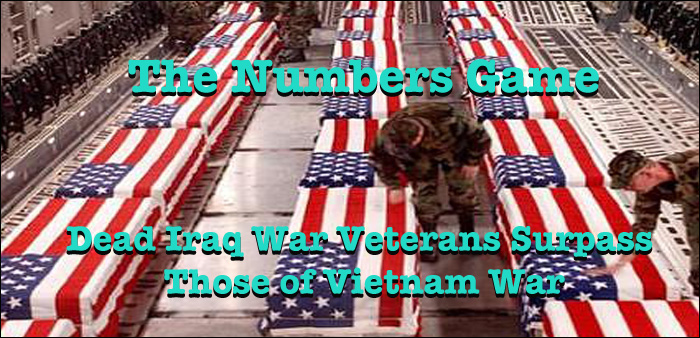 Iraq War S Exceed Vietnam Numbers